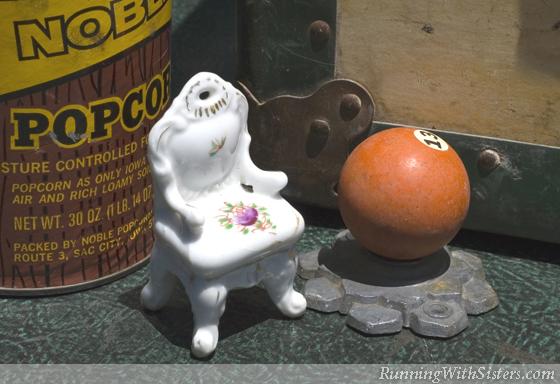 Porcelain Chair