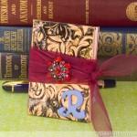 Make A Stamped Copper Mini Journal