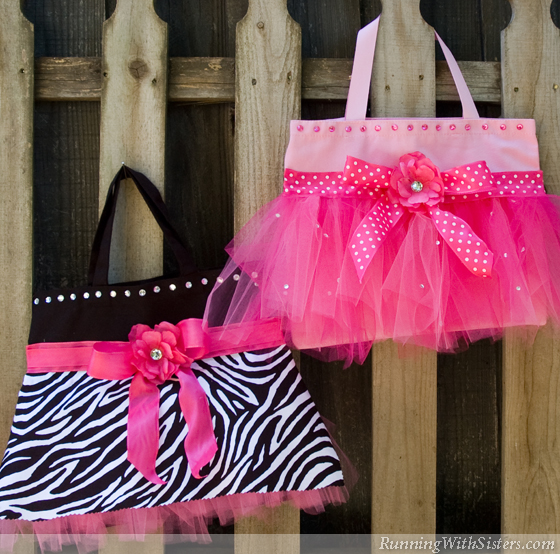 Mother Daughter Tutu Totes