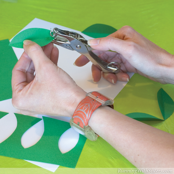 Step 10 Cut Out Leaves
