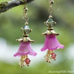 Blooming Garden Flower Earrings