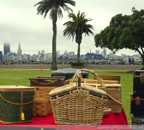 Picnic Baskets With A View