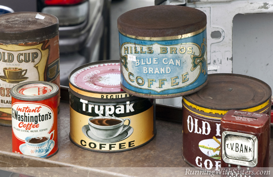 Vintage Coffee Cans
