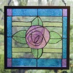 How To Make a Faux Stained Glass Window