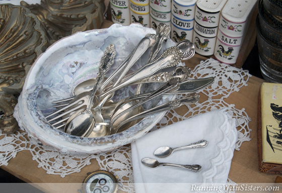 Sterling Silverware And Pins