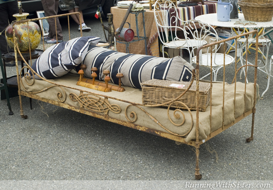 Weathered Daybed