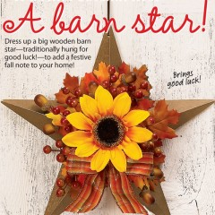 Barn Star Wreath