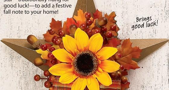 Barn Star Wreath