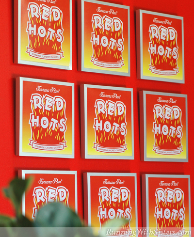 Bedroom Red Hots Art