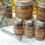 Kitchen Spice Jars