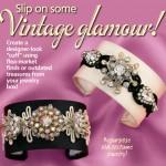 Vintage Brooch Cuffs