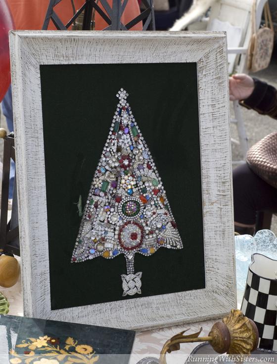 Christmas Brooch Tree