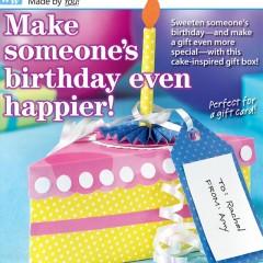 Cake Slice Gift Box