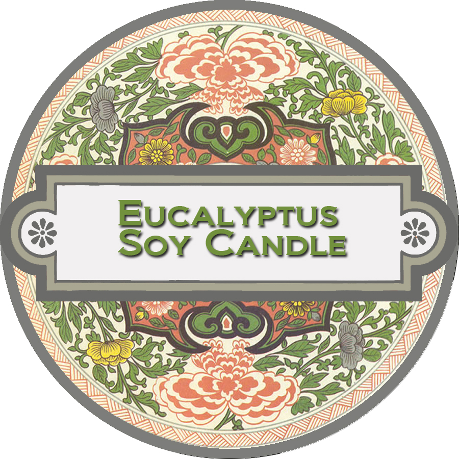 Eucalyptus Soy Candle Label