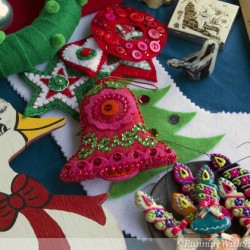 Christmas Felt Ornaments & Stocking