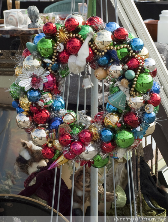 Shiny Brite Wreath