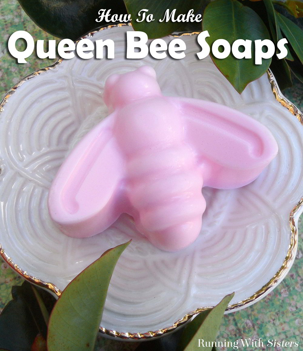 This adorable bee handmade soap is a breeze to make when you use melt-and-pour soap base. Patchouli essential oil gives it an earthy aroma reminiscent of gardens in bloom.