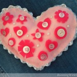 Kid Craft! Valentine's Day Heart Pillow