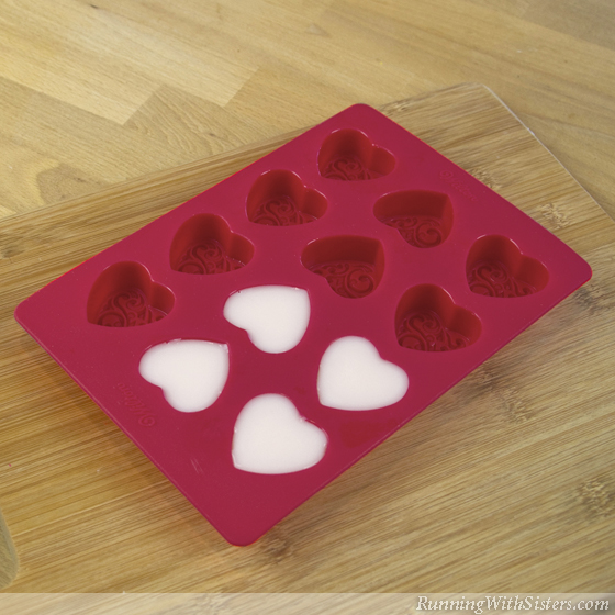 Heart Soaps Step 4