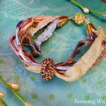 Raid-Your-Ribbon-Stash Pandora Ribbon Bracelet