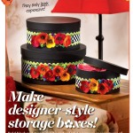MacKenzie-Childs Inspired Storage Boxes