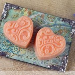 Valentine's Heart Soaps