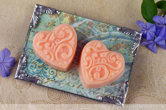 Valentines Day Heart Soaps