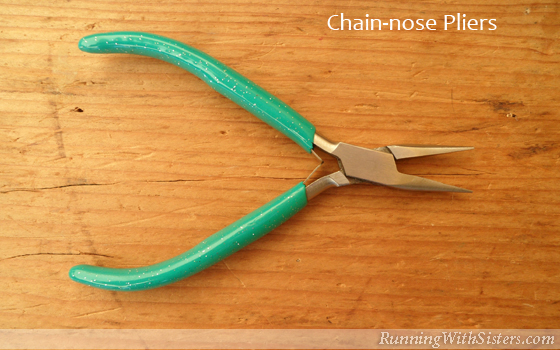 Jewelry Tools: Chain-nose Pliers