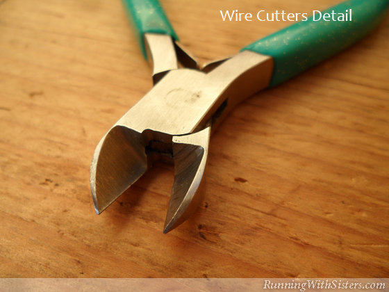 Jewelry Tools: Flush Cutter Detail
