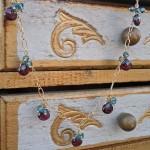 Elegant Garnet Briolette Necklace