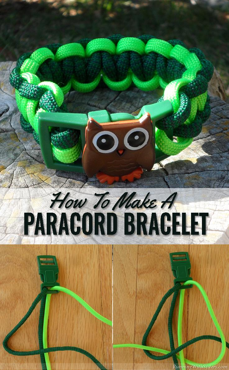 How To Make A Paracord Bracelet Pinterest copy