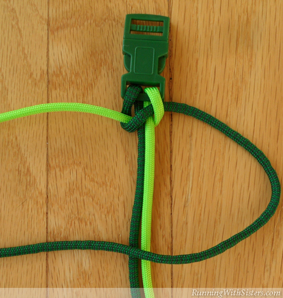 How To Make A Paracord Bracelet Step 5