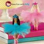 Kid Craft: Clothespin Ballerinas!