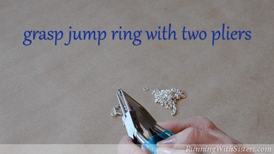 How To Put A Clasp On A Chain - 3.0 Grasp Jump Ring With Two Pliers ALT