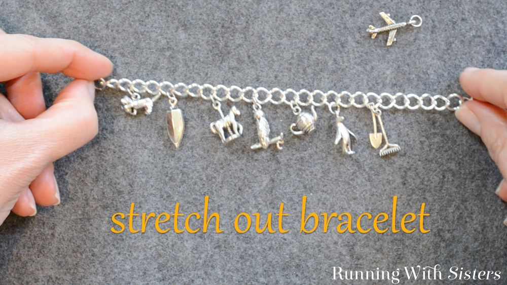 1 Adding To A Charm Bracelet - Stretch Out Bracelet