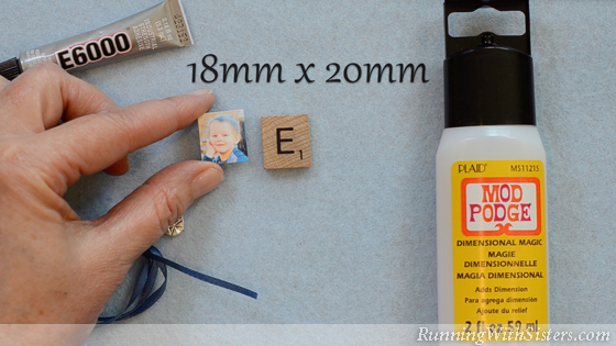 1 How To Make A Picture Pendant - Resize Photo and Cut It Out