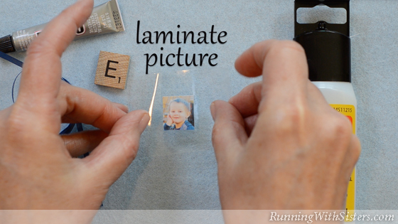 2 How To Make A Picture Pendant - Laminate Picture