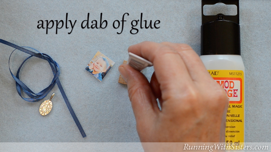 3 How To Make A Picture Pendant - Glue To Tile