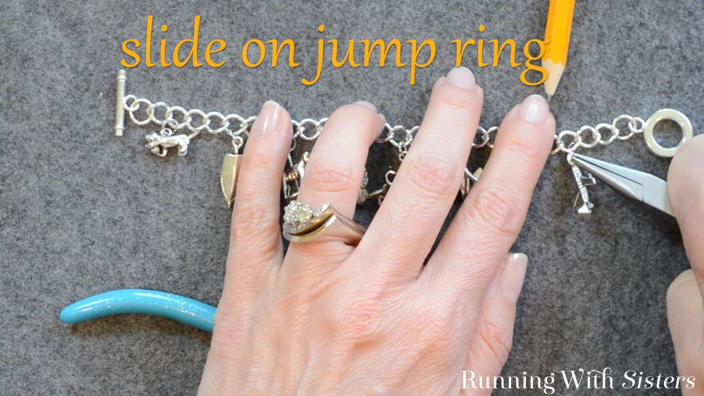 4 Adding A Charm To A Bracelet - Slide On Jump Ring