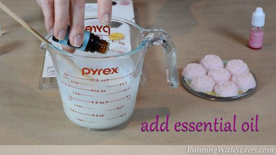 4 Sugar Scrub Soaps - Add Essential Oil