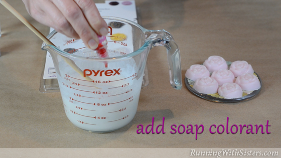 5 Sugar Scrub Soaps - Add Soap Colorant