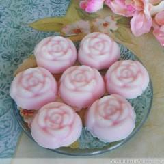 Rose Sugar Scrub Soaps
