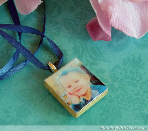 How to make a scrabble tile picture pendant running with sisters runningwithsisters moms love handmade gifts so why not make yours a aloadofball Image collections