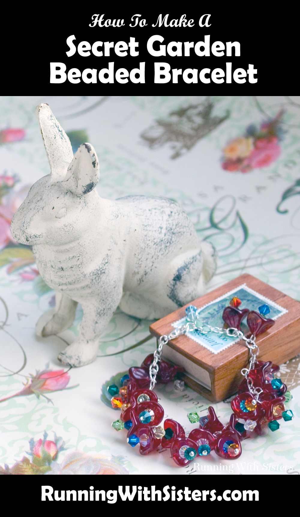 Secret Garden Beaded Bracelet Pinterest