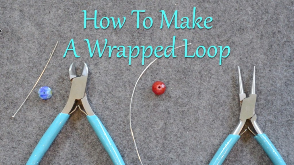 This tutorial is a great how-to for beginners learning to make wrapped loops.