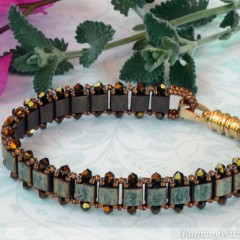 """Tila For Two"" from Diane Whiting's Book Convertible Crystal Jewelry"