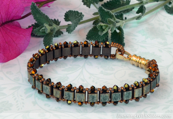 """""""Tila For Two"""" from Diane Whiting's Book Convertible Crystal Jewelry"""