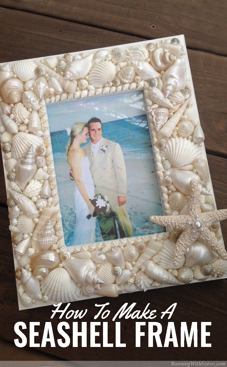 RunningWithSisters Seashell Frame