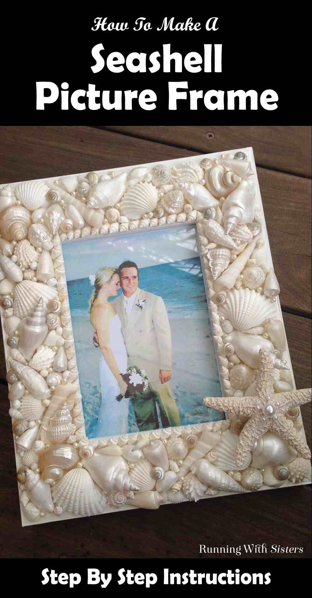 Seashell Picture Frame Pinterest