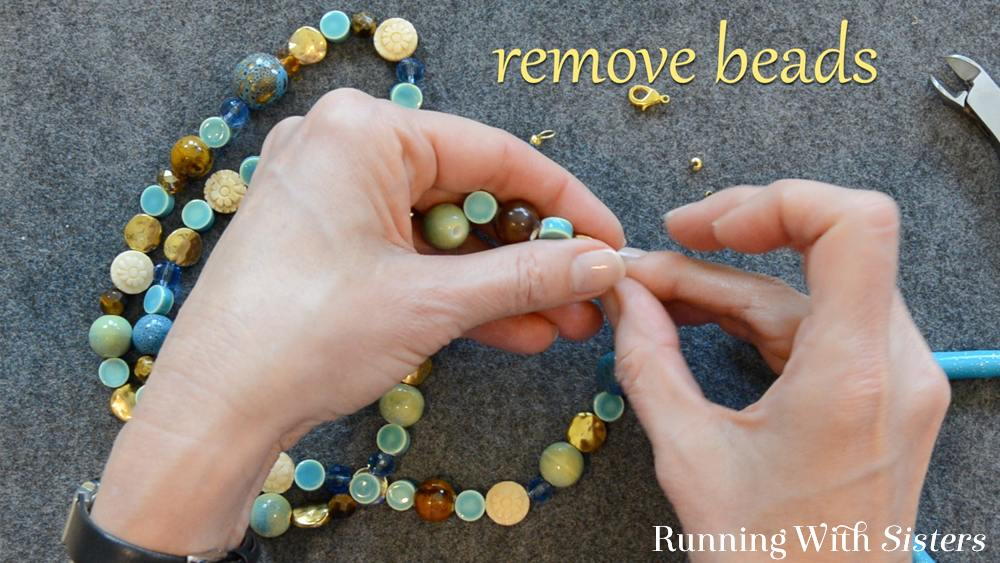 2 How To Shorten A Necklace - Remove Beads